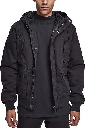 Urban Classics Hooded Cotton Jacket Chaqueta para Hombre ...