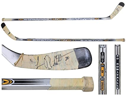 Luc Robitaille's game-used original Easton Synergy hockey stick