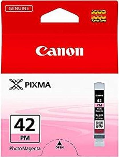 Canon CLI-42 PM Cartucho de tinta original Foto Magenta para Impresora de Inyeccion de tinta Pixma PRO100-PRO100S