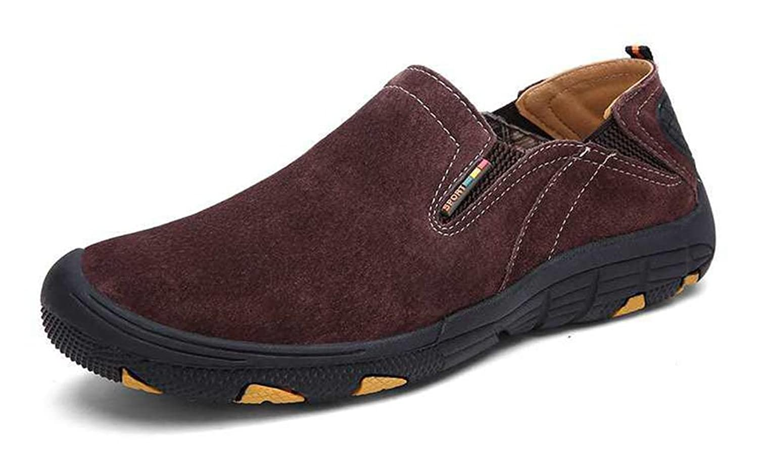 Men's Casual Slip On Shoes Lightweight Athletic Sports Hiking Boots