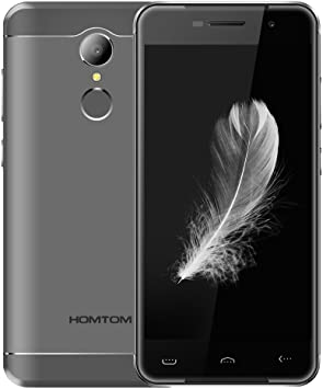 HOMTOM HT37 PRO - Smartphone Libre 4G Android 7.0 (Pantalla HD 5.0 ...