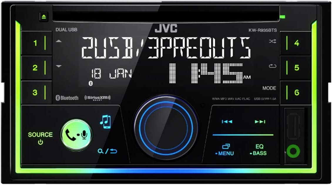B075ZFBKN5 JVC KW-R935BTS CD Receiver 61BsoyHxTHL.SL1200_