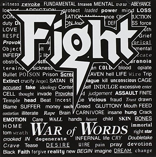 CD : The Fight - War of Words (CD)