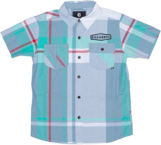 BILLABONG - Camisa Manga Corta, LARS, Chico: Amazon.es: Ropa y accesorios