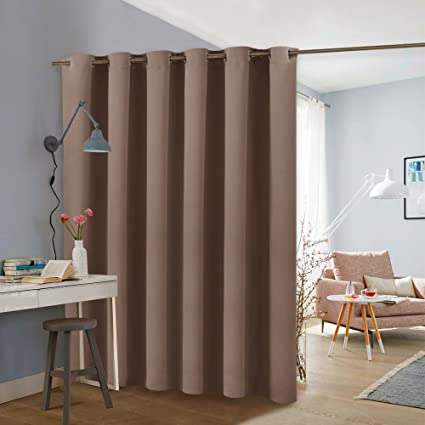 Amazoncom PONY DANCE Room Partition Curtain Privacy Blackout