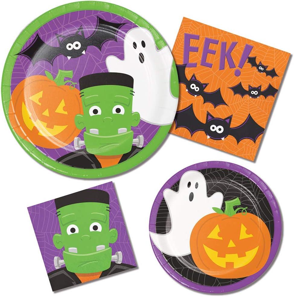 Frankenstein Paper Plates and Napkin Sets