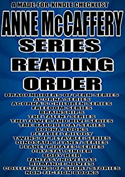 Dragonriders of pern books reading order