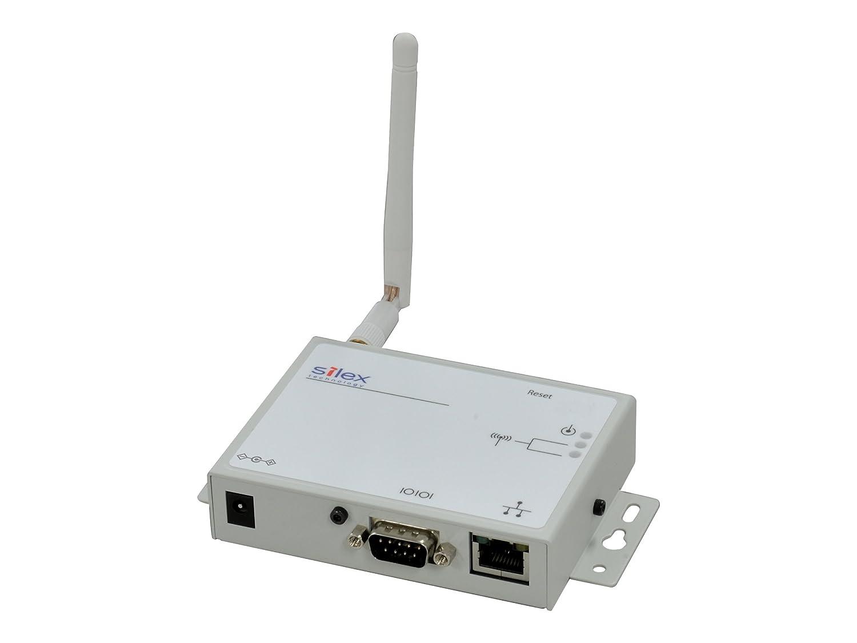 Silex SD-320An - Wireless Device Server - Gray, White