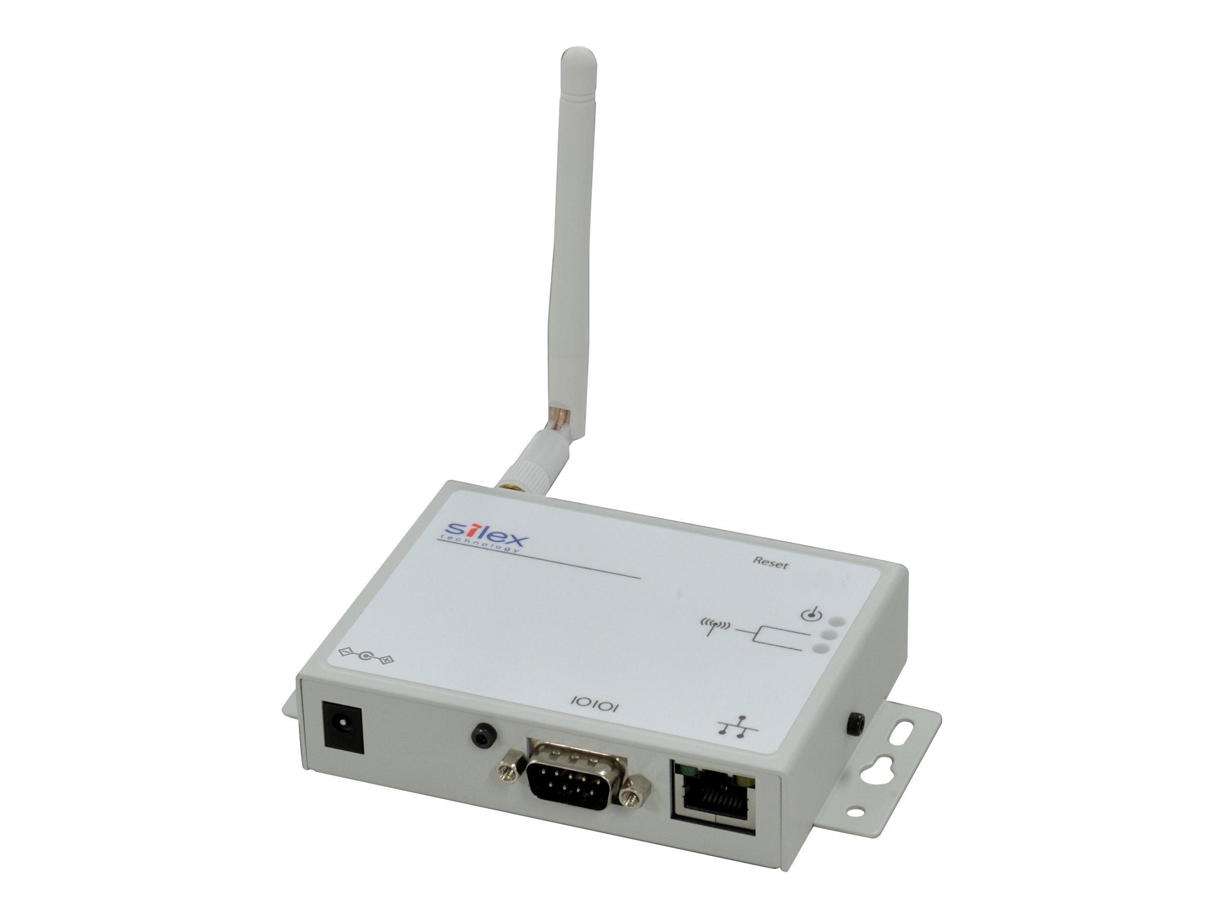 Silex SD-320An - Wireless Device Server - Gray, White by SILEX