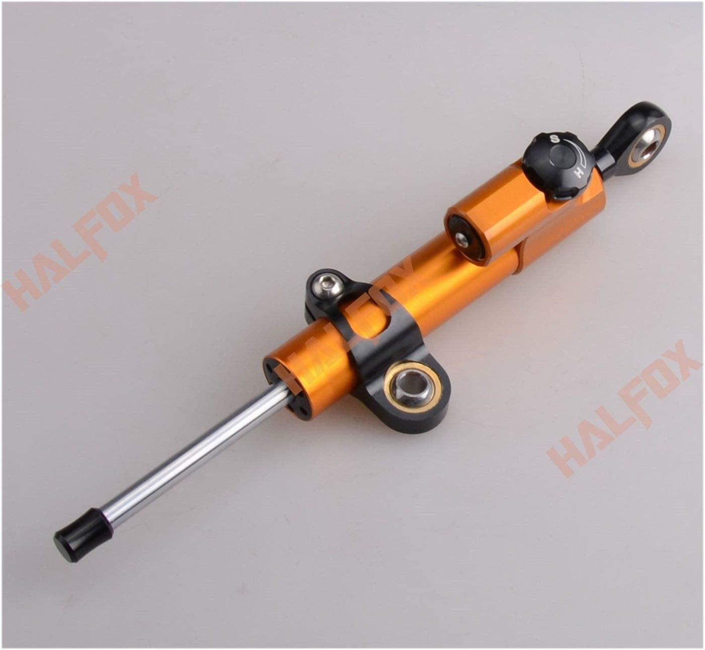 FidgetGear Stabilisateur de Direction CNC pour Honda CBR 125 250 300 600F 600RR 1000RR