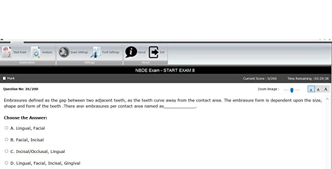 NBDE National Board Dental Exam 4,600 Sample Questions, NBDE Part I Review,  Windows PCs Only