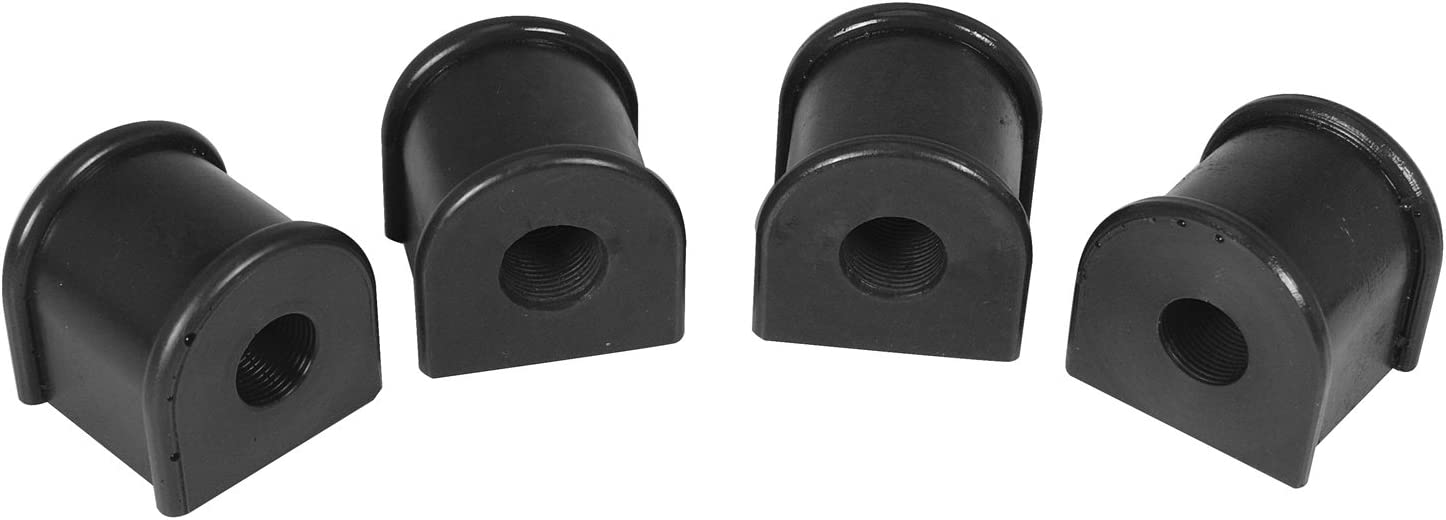 Made in America KJ05006BK Black Jeep XJ Cherokee Polyurethane Sway Bar Bushings 25mm fits Cherokee and Comanche 1984 to 2001 2//4WD Daystar
