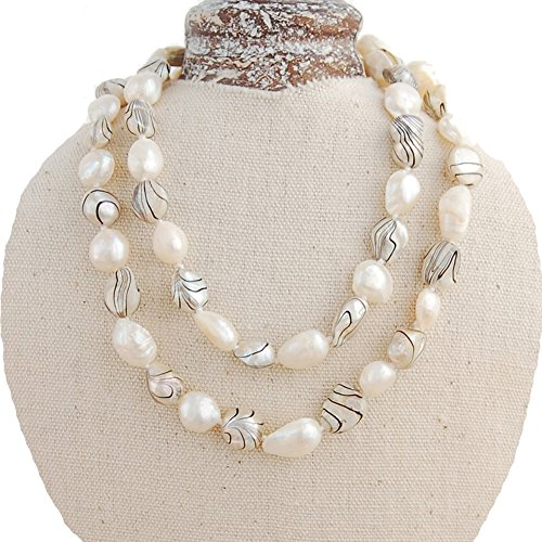 25 Inch Cultured Pearl Necklace - 5