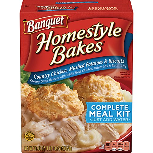 Boxed Meal - Banquet  Homestyle Bakes Country Chicken, 30.9-Ounce Boxes (Pack of 6)