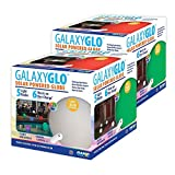 GAME 9017-02 GalaxyGlo Solar-Powered Waterproof Color Changing Globe with Remote (2 Pack), 9
