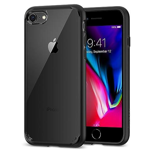 Spigen ウルトラ・ハイブリッド 2 iPhone 8(ブラック)