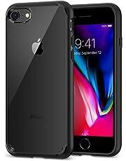 Spigen Ultra Hybrid [2nd Generation] Designed for Apple iPhone 7 Case (2016) / Designed for iPhone 8 Case (2017) - Black