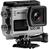 SJCam SJ6 Legend (versión española) - Cámara deportiva 4K de 16 MP (procesador Novatek 96660, WiFi, pantalla táctil de 2.0'') color plata