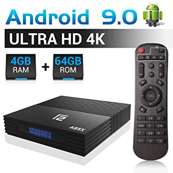 A95X F2 Android 9 0 TV Box 4GB RAM 64 ROM, Android Box 4K S905 X2 Quad Core  64bits Smart TV BOX Support Bluetooth 4 2 2 4Ghz Wi-Fi 4K 3D Full HD H 265
