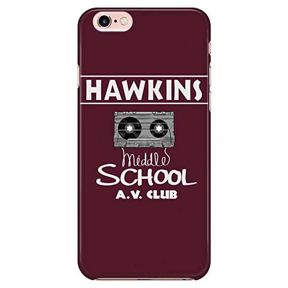 1e5c4ab2ba Amazon.com: Hawkins Middle School AV Club Smart Phone Case for ...