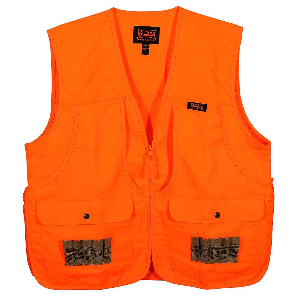 Gamehide Frontloader Vest, Blaze Orange, Large by Gamehide