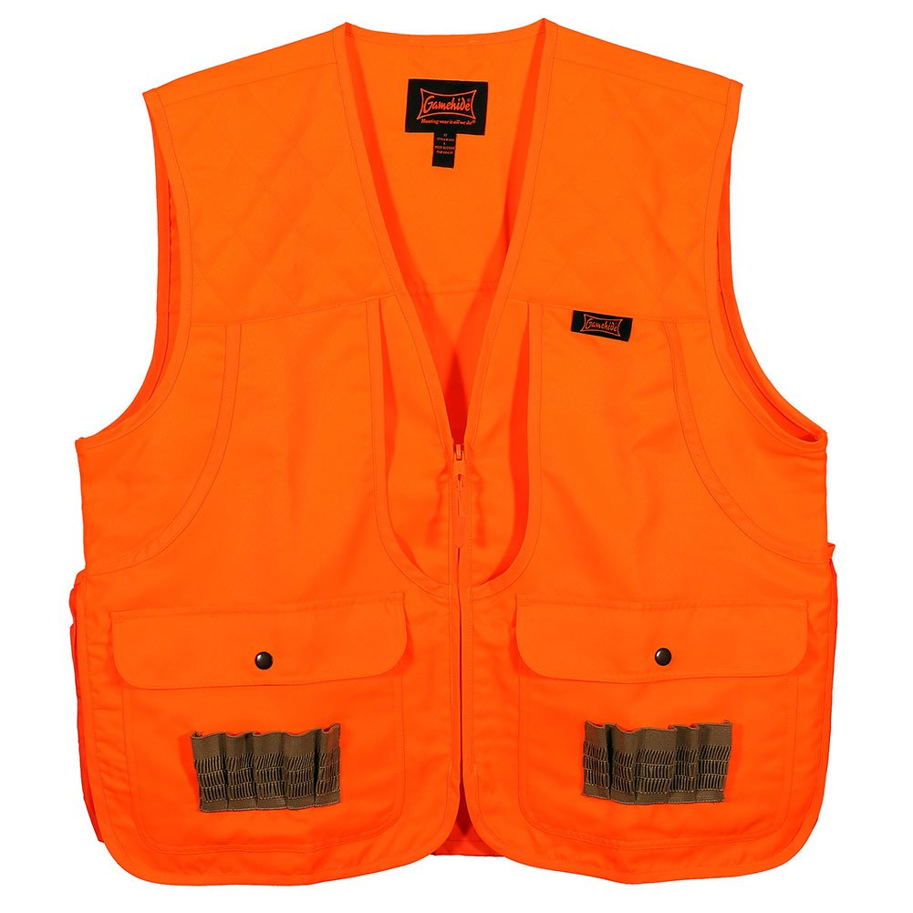 Gamehide Frontloader Vest, Blaze Orange, Large