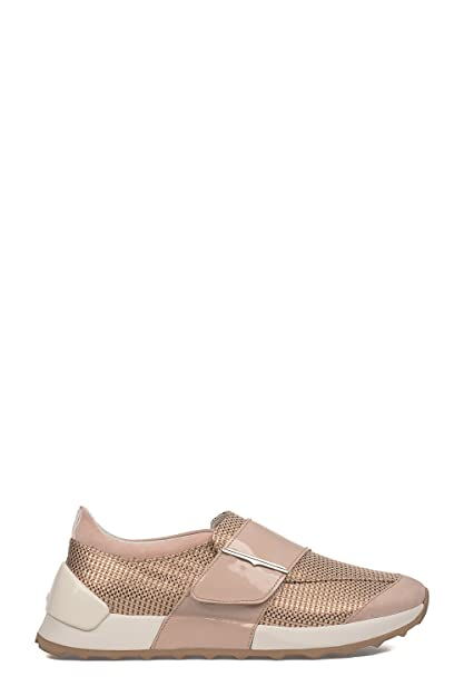 Alberto Guardiani Women's Sd60421dxvx0 Pink Polyamide Slip on Sneakers