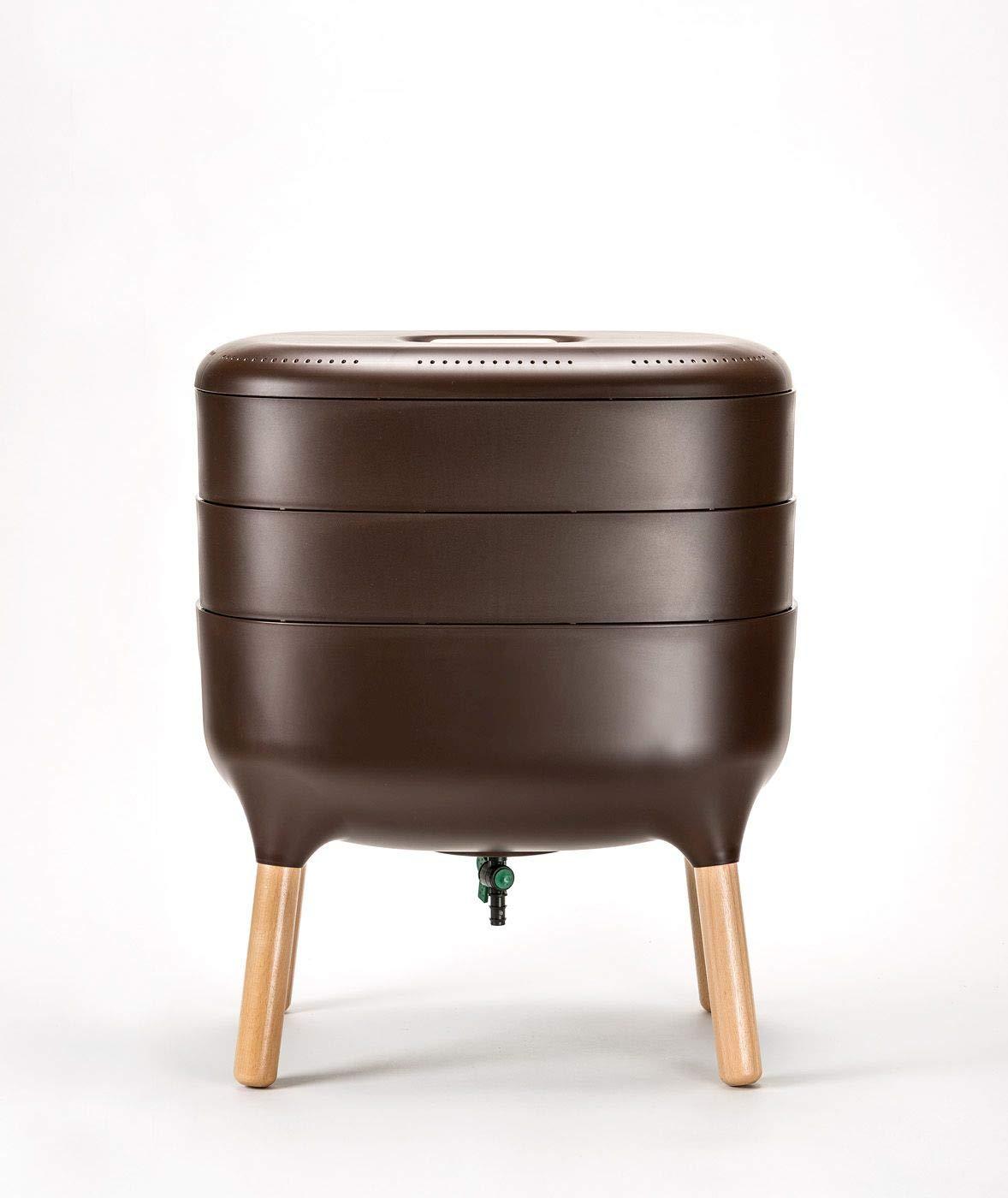 Compostador de diseño, compostador de gusano: Amazon.es ...