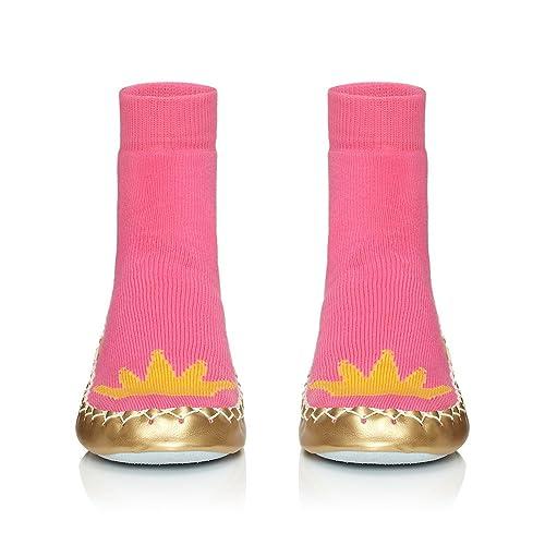 Moccis - Mocasines para Mujer Rosa Rosa, Color Rosa, Talla 37: Amazon.es: Zapatos y complementos