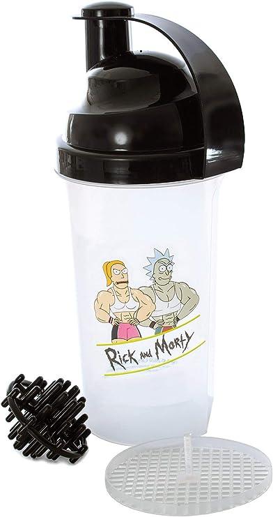 Botella de agua de aluminio con capacidad de 700 ml Rick and Morty