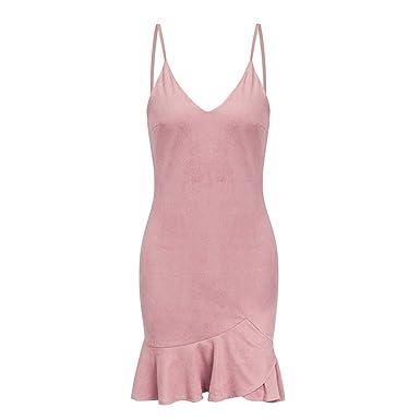 3422b392cca1d Jane Love Sexy V Neck Ruffle Strap Dress Women Dress Summer Dress ...