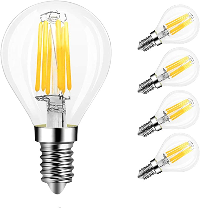 LED Filament Light Bulb B15 G45 Small Bayonet Cap Warm White 4W Set 2x 6x 10x