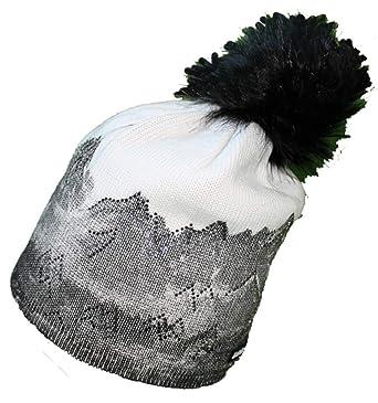 Eisbär Mütze Draw Lux Crystal (schwarzWeiss):