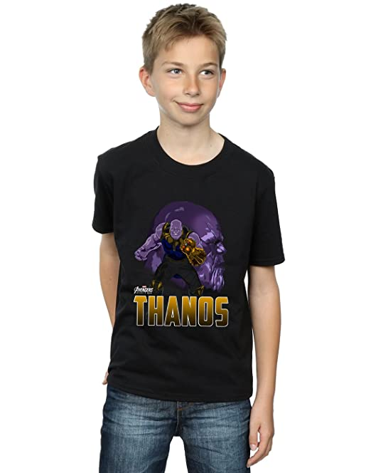 Absolute Cult Avengers Hombre Infinity War Thanos Character Camiseta Hsno038