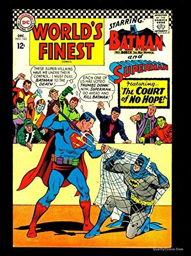 World's Finest Comics #163 VF+ 8.5