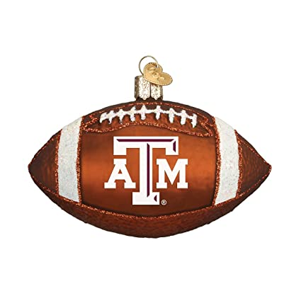 old world christmas ornaments texas am football glass blown ornaments for christmas tree - Texas Christmas Ornaments