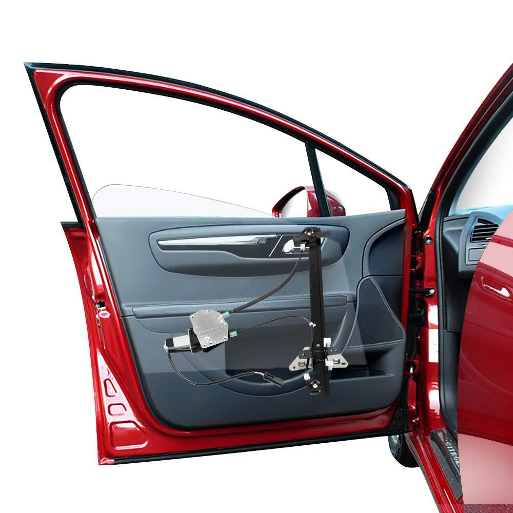Front LH Driver Side. Power Window Regulator with Motor Assembly for 1998-2003 Dodge Durango /& 2000-2004 Dodge Dakota Crew Cab Pickup