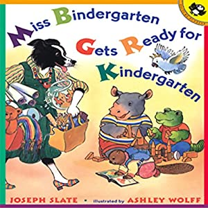 Miss Bindergarten Gets Ready for Kindergarten Audiobook