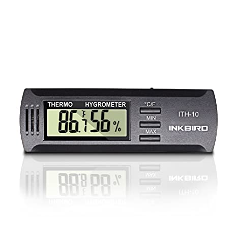 Nice Inkbird Dc 3V Input Digital Thermometer U0026 Humidity Meter Hygrometer High  Accuracy ITH 10