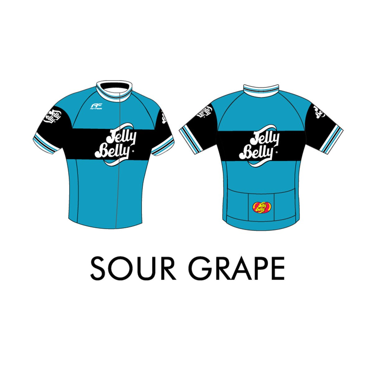 a43ee55f3 Jelly Belly Sour Grape Retro Cycling Jersey - Adult - Large  Amazon.com   Grocery   Gourmet Food