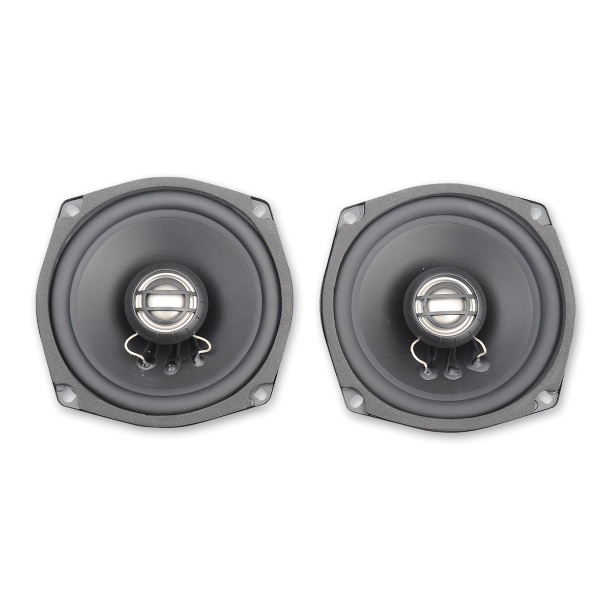 Hogtunes 352R-AA Replacement Rear Speaker (Gen3 5.25' s for 2006-2013 Harley-Davidson FLH Touring Models)