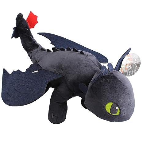 8064aeca076 Amazon.com  uiuoutoy How to Train Your Dragon 20   Jumbo Night Fury ...