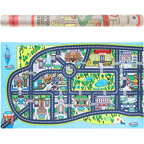 Rug Giant Road (Play Mat for Kids. Large 75