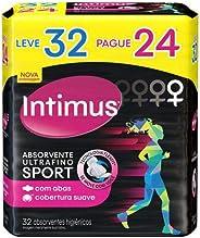 Intimus Absorvente Externo, Sport Ultrafino com Abas , 32 unidades
