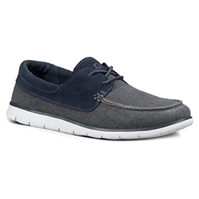Amazon.com: UGG de los hombres Catton Imperial Canvas Loafer ...