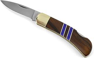 product image for Santa Fe Stoneworks Arizona Ironwood 3-inch Lockback Pocket Knife, Lapis