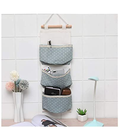 Amazon com: College Dorm Wall Hanging Bag Space Saver Bags