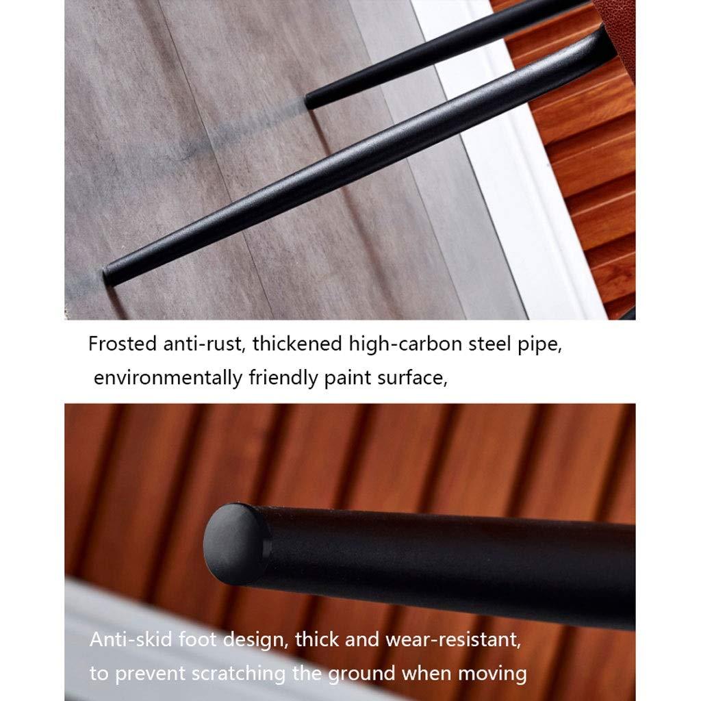 XIAOLI 2/4 stycken vattentät matstolsset mjuk teknik tygstol halkskydd fotstol för hotell restaurang heminredning (färg: 4 st röd) 4pcs Red