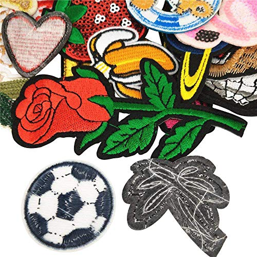 Rainbow Libiline Kid Embroidered Patch Rainbow Sew On//Iron On Patch Applique Clothes Dress Plant Hat Jeans Sewing Flowers Applique DIY Accessory