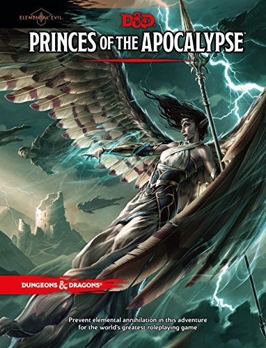 Princes of the Apocalypse (D&D Accessory) (Edition Model Plastic)